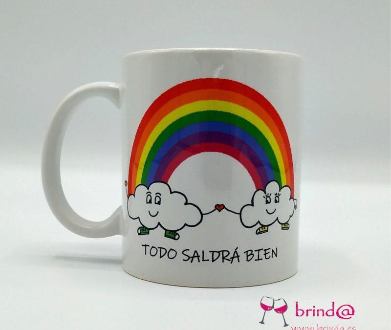taza arcoiris