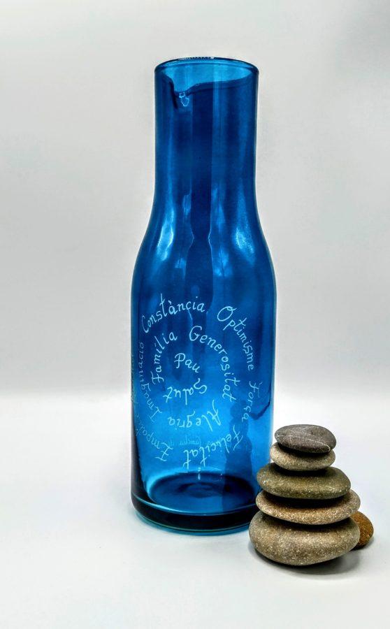 botella agua solarizada