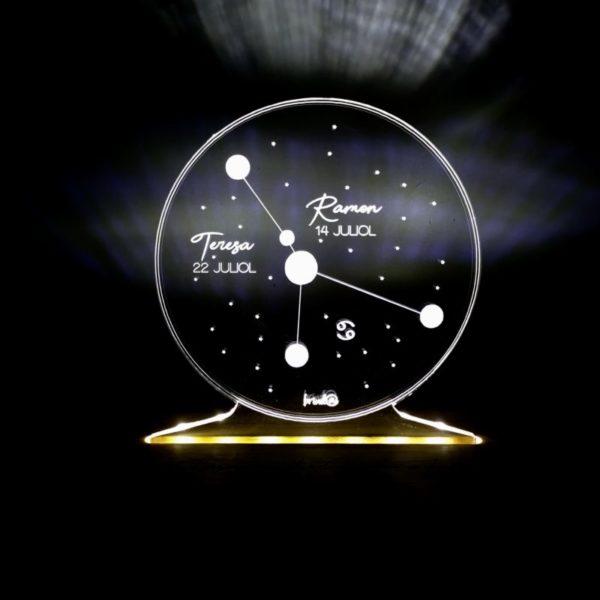 lámpar zodíaco constelaciones 2