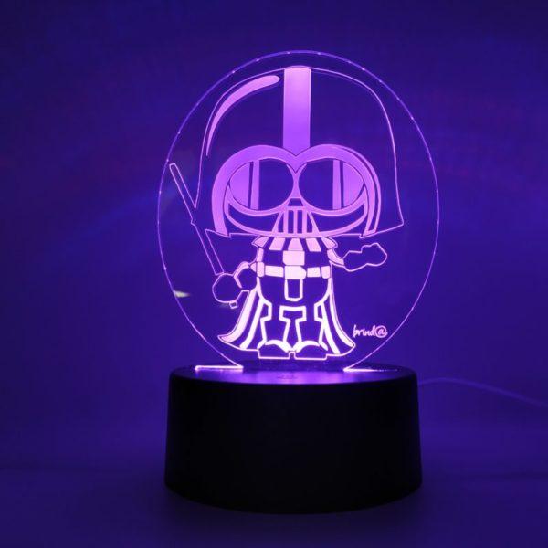 lámpara star wars