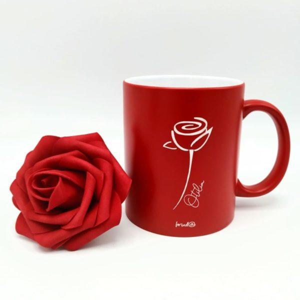 tazan rosa roja