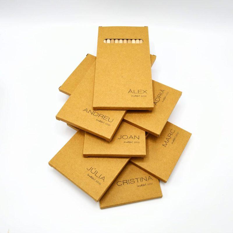 caja lápices